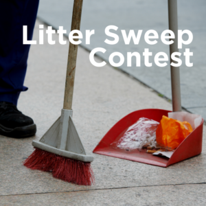Litter Sweep Contest